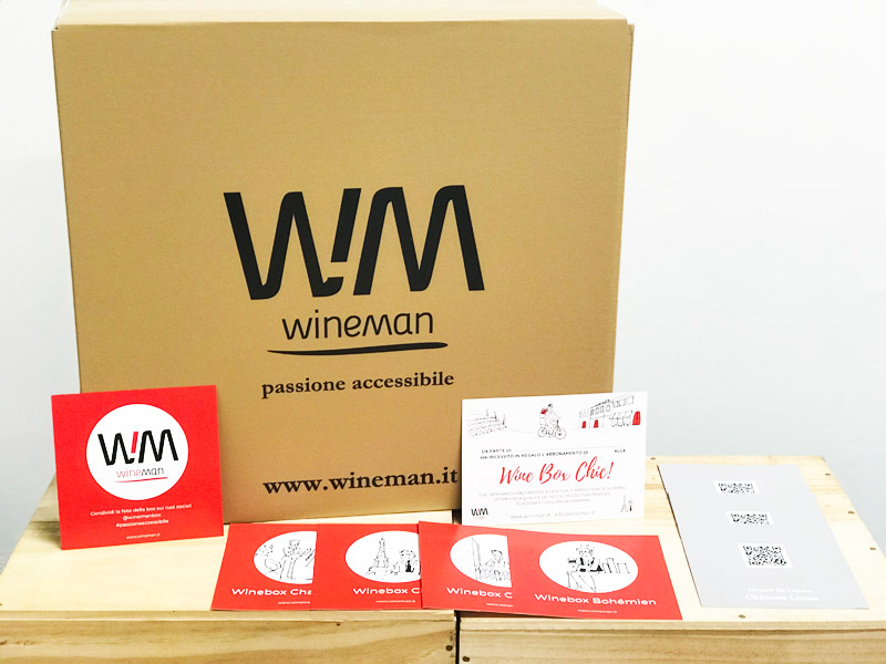 Wine Box Wineman